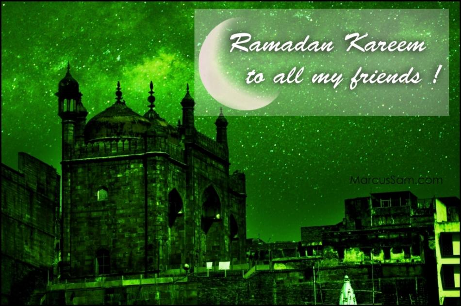 Happy Ramadan/Ramzaan